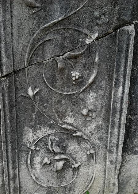 イタリアの模様。石材