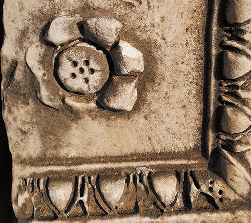 イタリアの模様。石材2